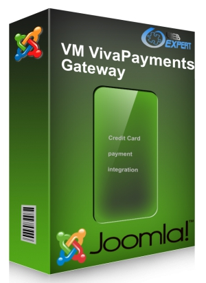 Virtuemart v2.x /3.x  Viva Wallet Payments Gateway Plugin