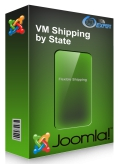 Virtuemart Shipping by State